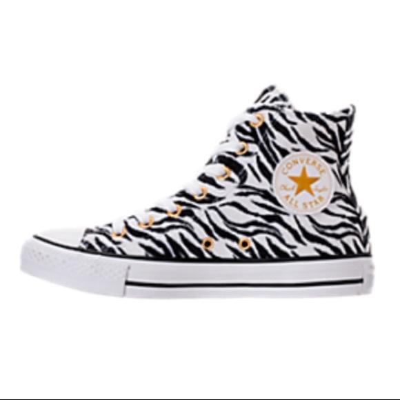 d2160f6616 Converse Chuck Taylor Animal Print Sneakers